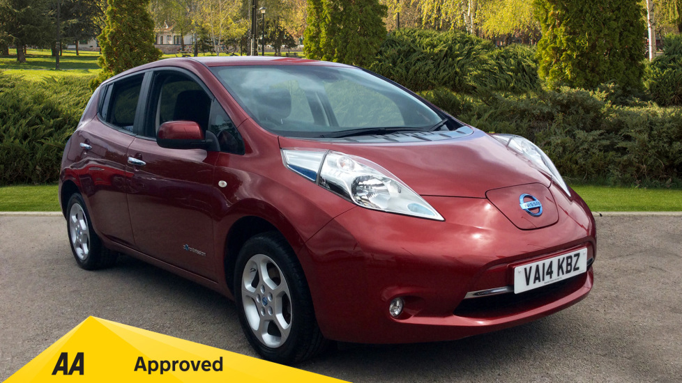 Nissan Leaf 80kW Acenta Flex 24kWh 5dr Auto Electric Automatic Hatchback (2014) available from Warrington Motors Vauxhall thumbnail image