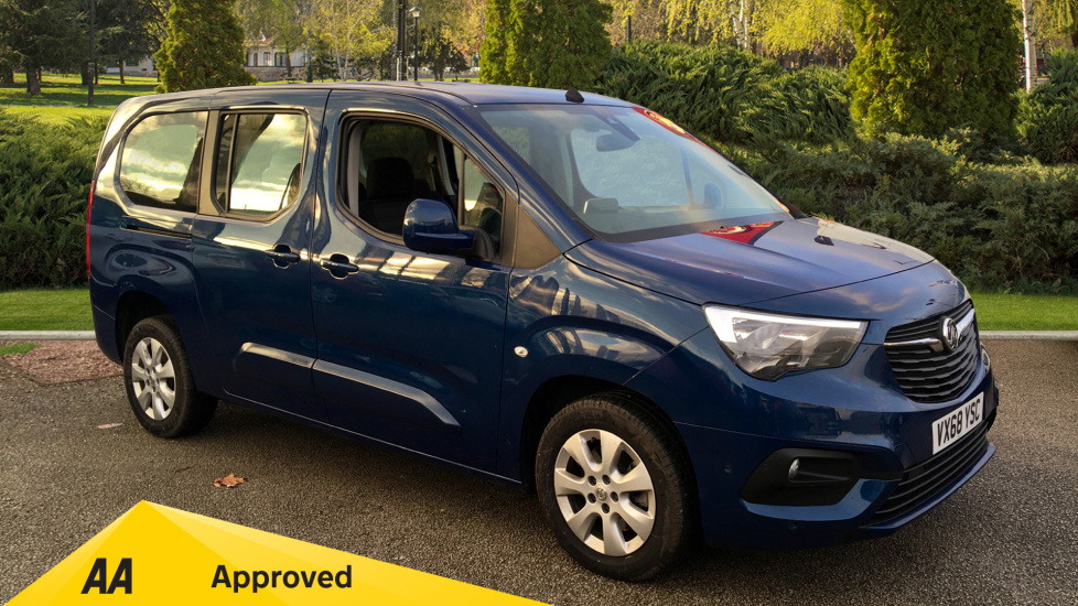 Vauxhall Combo Life 1.5 Turbo D Energy XL 5dr [7 seat] Diesel MPV (2018)