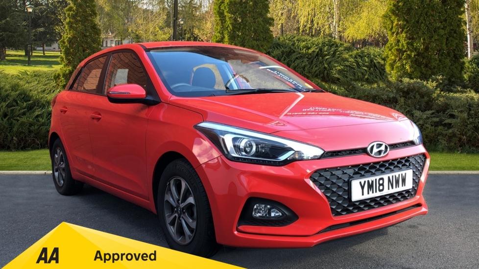 Hyundai i20 1.2 MPi SE 5dr - Reverse Camera, Parking Sensors, Apple CarPlay & Android Auto Hatchback (2018)
