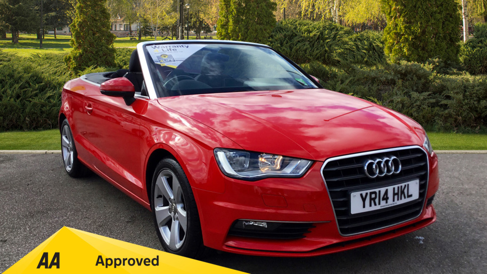 Audi A3 2.0 TDI Sport 2dr Diesel Cabriolet (2014) available from Bolton Motor Park Abarth, Fiat and Mazda thumbnail image