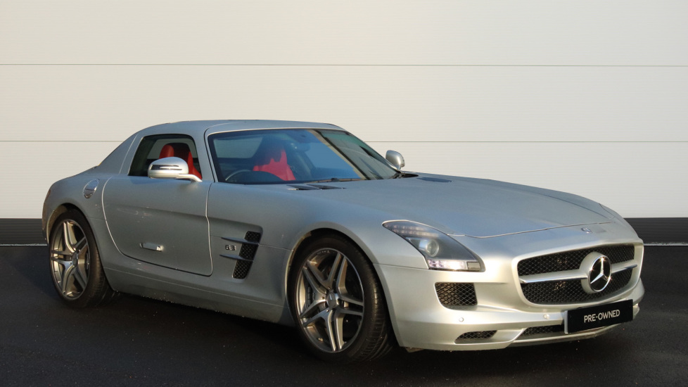 Mercedes-Benz SLS AMG 63 GULL-WING COUPE 2dr 6.2 Automatic Coupe (2011) image