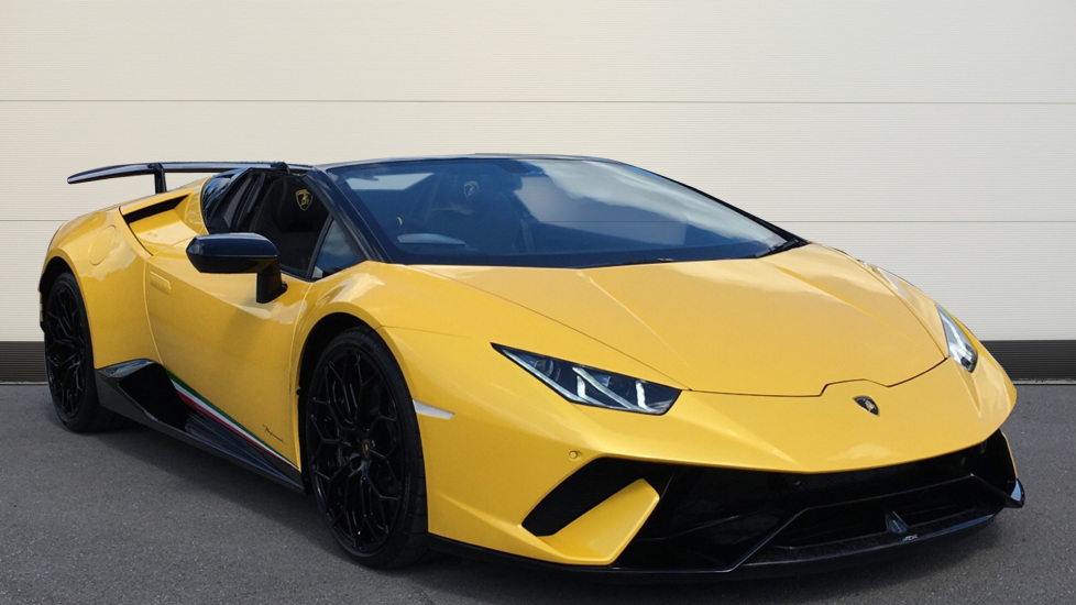 Lamborghini Huracan Performante Spyder LP 640-4  5.2 Automatic 2 door Convertible (2019)
