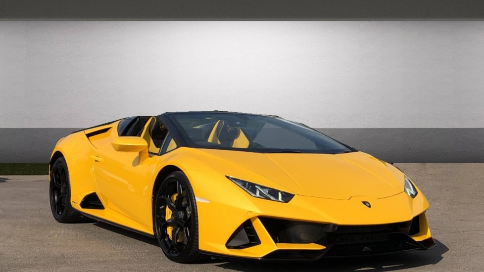 Lamborghini Huracan EVO Spyder LP 640-4 5.2 Semi-Automatic 2 door Convertible (2019)