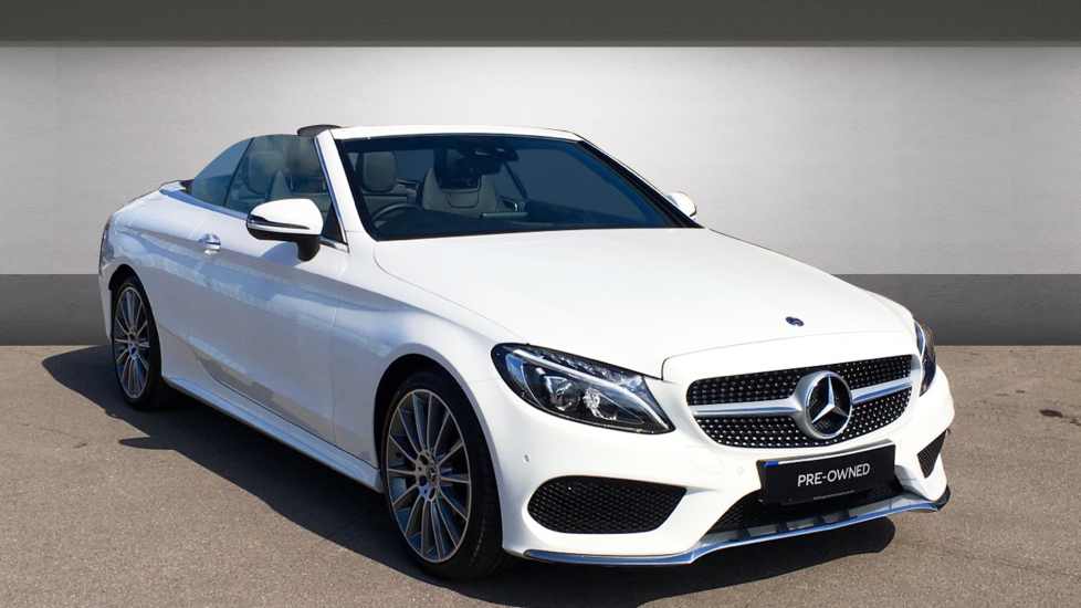 Mercedes Benz C Cl C200 Amg Line 2dr 2 0 Automatic Cabriolet 2017 At Bentley Chelmsford