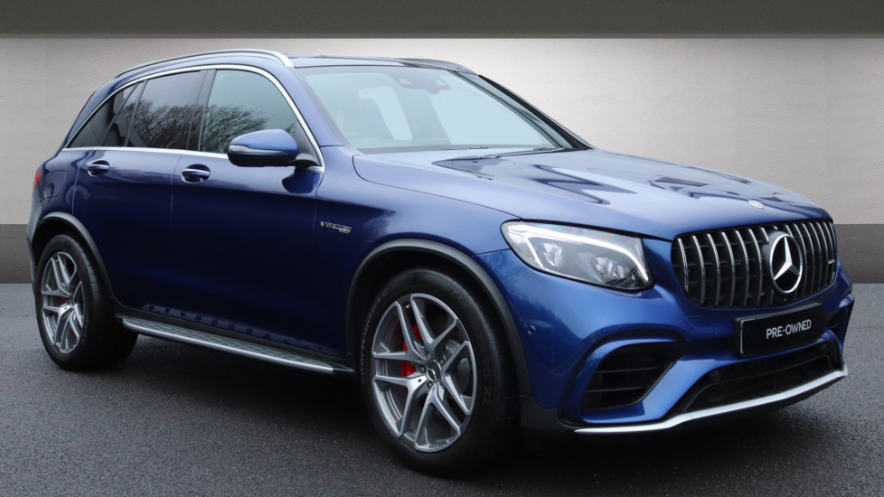 Mercedes-Benz GLC-Class GLC 63 S 4Matic Premium 5dr 9G-Tronic 4.0 Automatic Estate (2018)