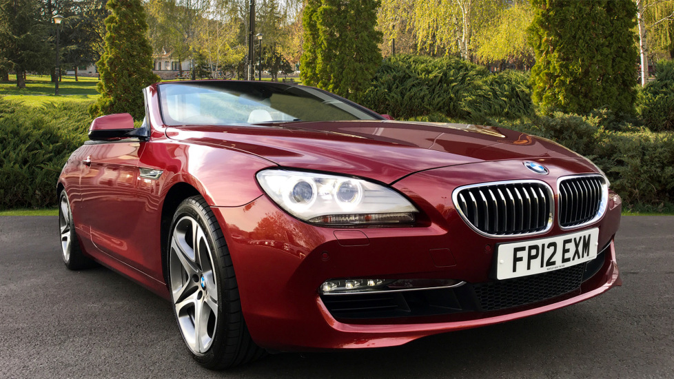 BMW 6 Series 640i SE 2dr 3.0 Automatic Convertible (2012)