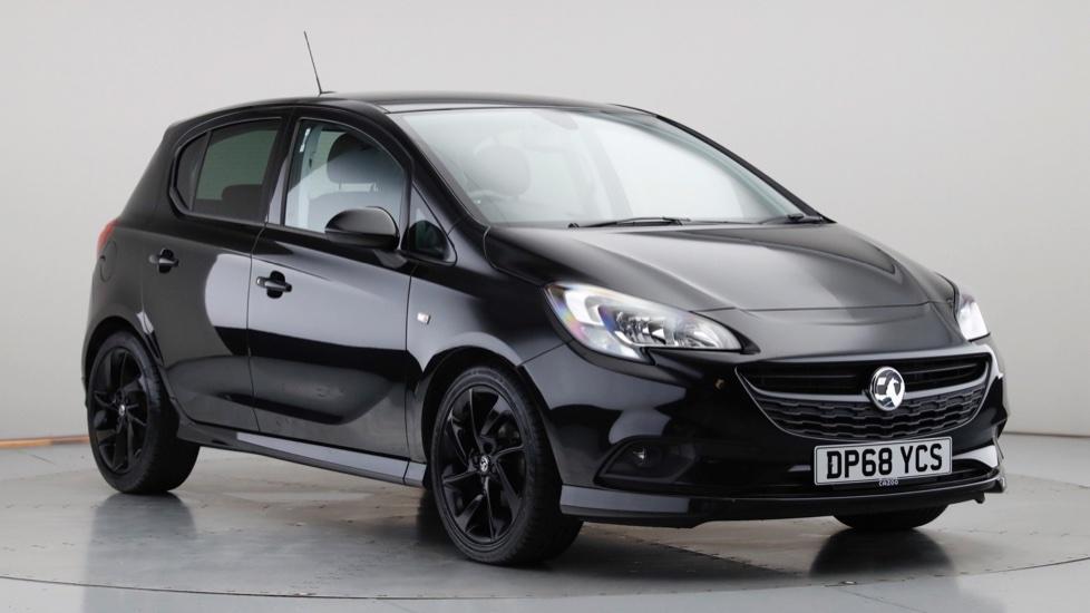 2018 Used Vauxhall Corsa 1.4L SRi VX Line Nav Black ecoTEC i