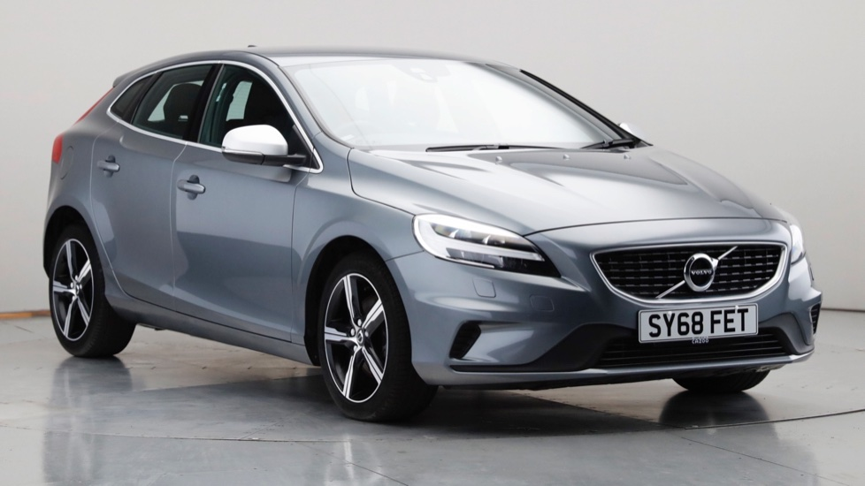2018 Used Volvo V40 2L R-Design Nav Plus T2
