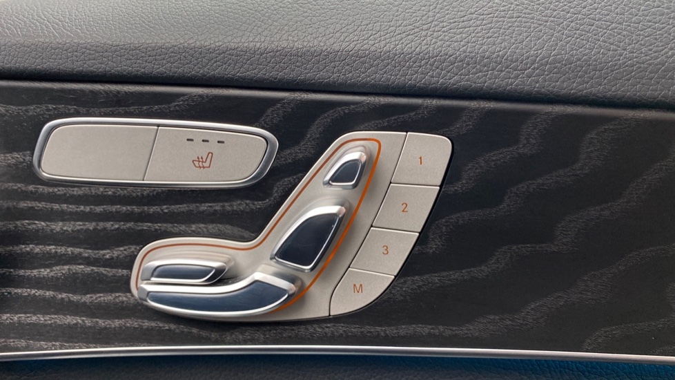 Electric seat controls