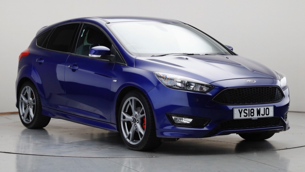 2018 Used Ford Focus 1L ST-Line X EcoBoost T