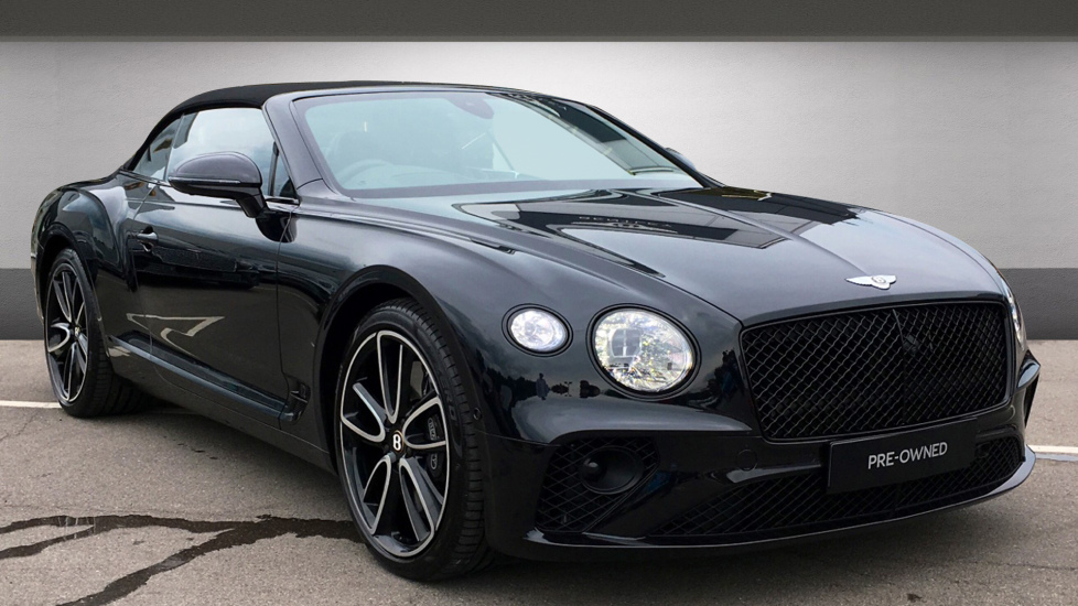 Bentley New Continental GT Convertible 6.0 W12 2dr Automatic Convertible (2019)
