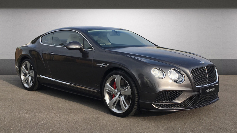 Bentley Continental GT 6.0 W12 [635] Speed 2dr Automatic Coupe (2016)