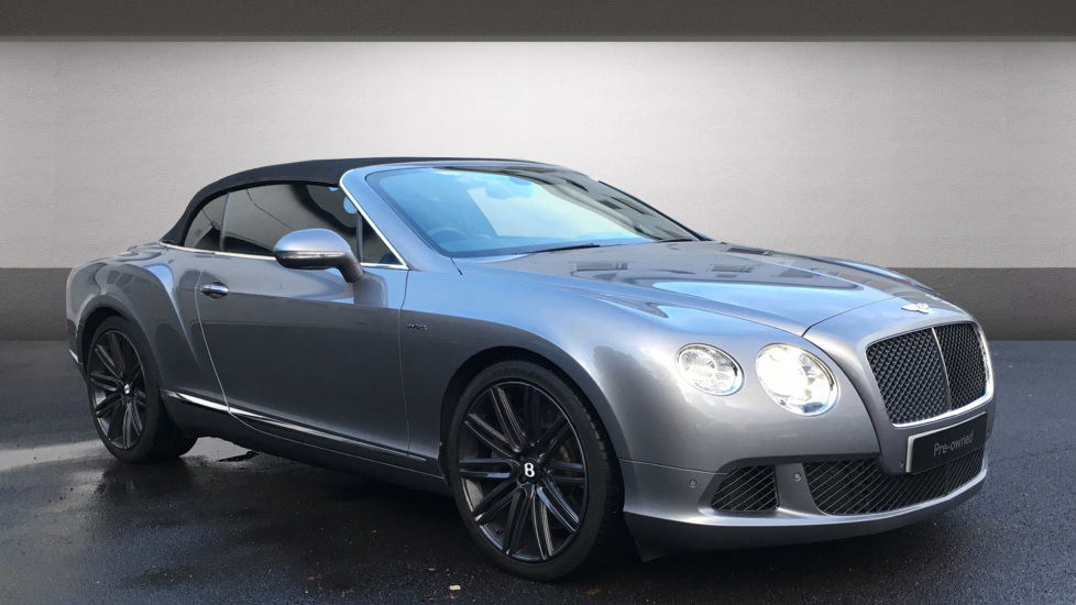 Bentley Continental GT Speed 6.0 W12 Speed 2dr Automatic Convertible (2014) image