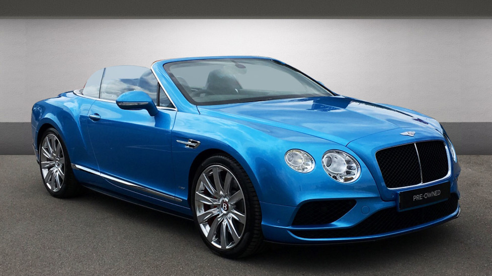 Bentley Continental GTC 4.0 V8 S 2dr Automatic Convertible (2016) image
