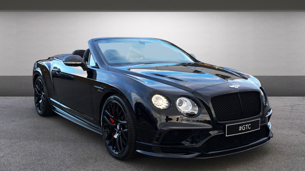 Bentley Continental GTC 6.0 W12 Supersports 2dr Auto (2017)