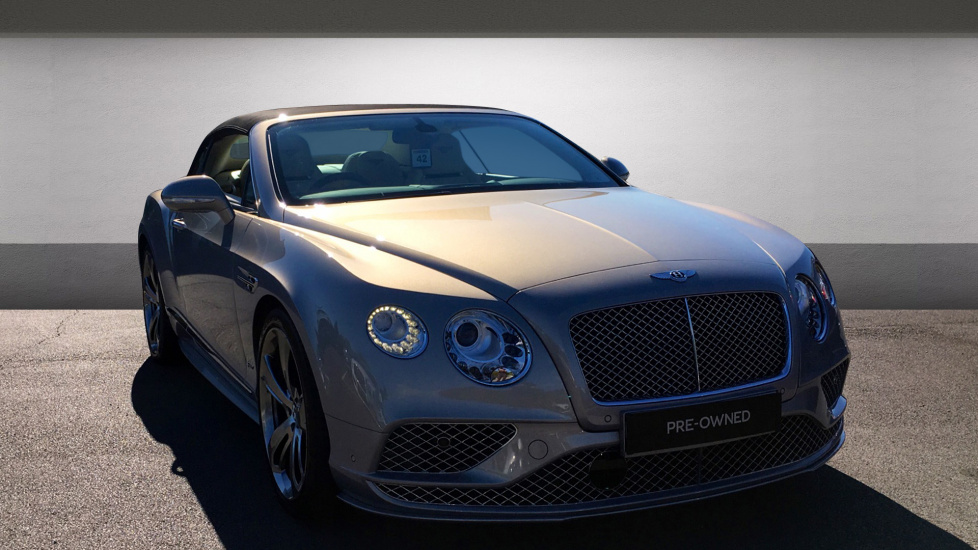 Bentley Continental GTC 6.0 W12 [635] Speed 2dr - Titanium Sports Exhaust -  21 Inch Directional Sports Alloy Wheels Automatic Convertible at Bentley Chelmsford thumbnail image