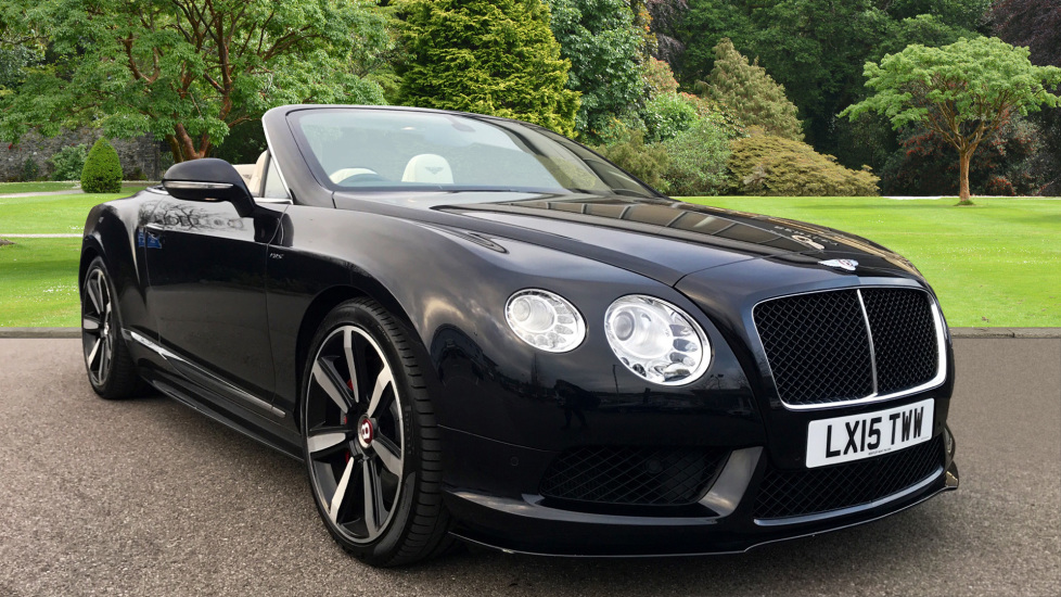 Bentley Continental GT 4.0 V8 S 2dr Automatic Convertible (2015) image