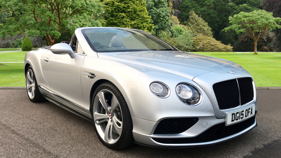 Bentley Continental GTC 4.0 V8 S 2dr Auto Automatic Convertible (2015) image
