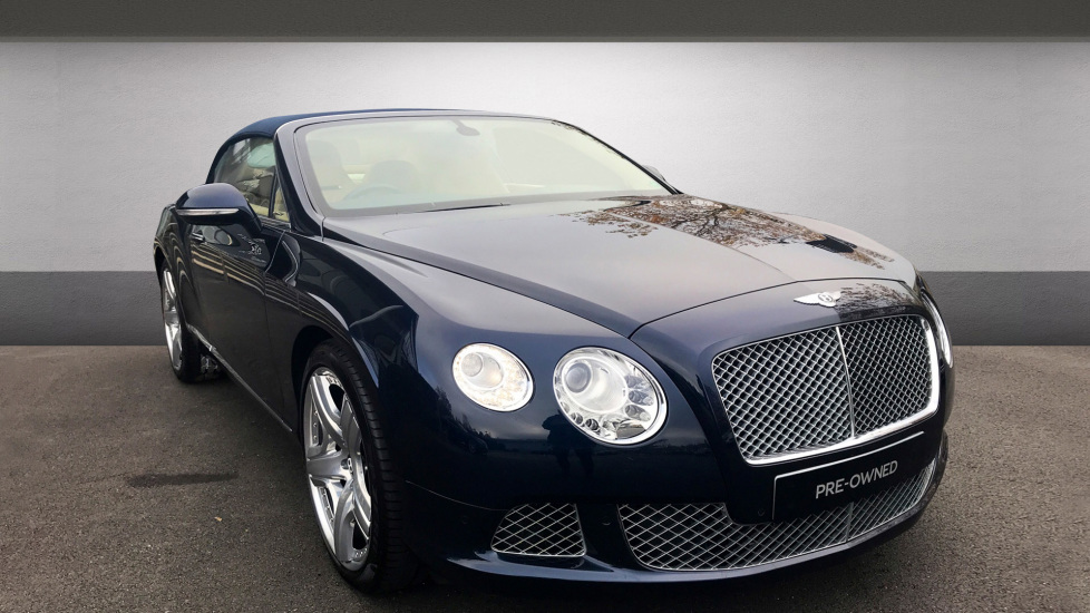 Bentley Continental GTC W12 Mulliner Driving Specification 6.0 Automatic 2 door Convertible (2012)