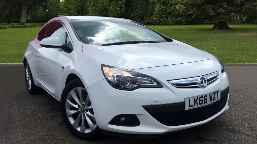 Used Vauxhall ASTRA GTC Coupe 1.4i Turbo SRi (s/s) 3dr