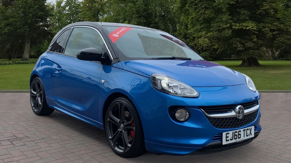 Used Vauxhall ADAM Hatchback 1.4i Turbo S (s/s) 3dr