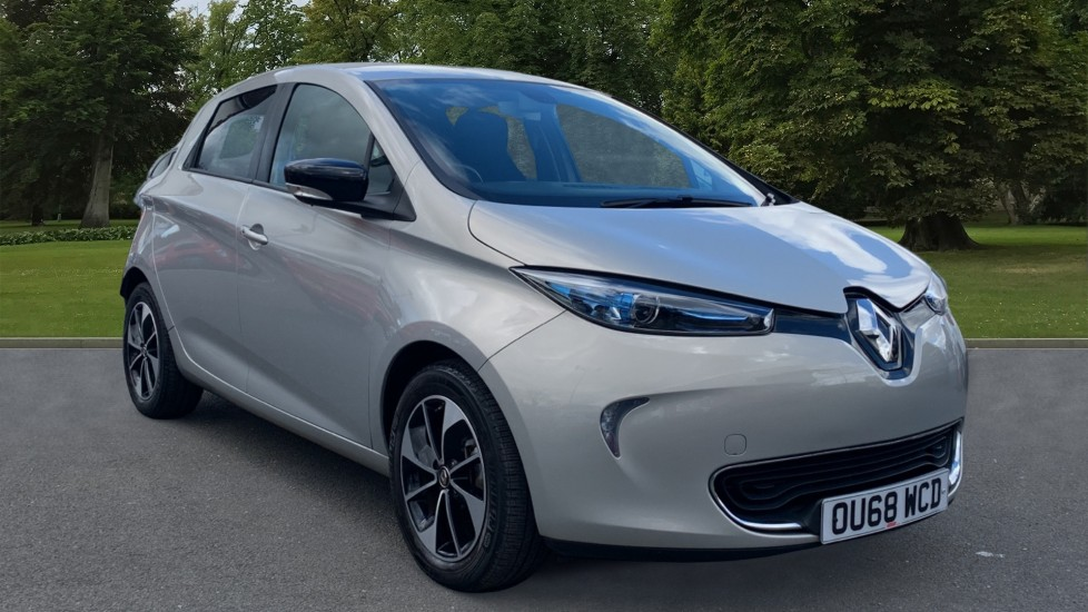 Used Renault Zoe Hatchback R110 41kWh Dynamique Nav Auto 5dr (Battery Lease)