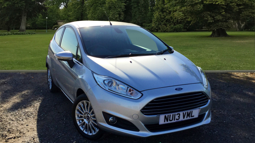Used Ford FIESTA Hatchback 1.6 Titanium Powershift 3dr