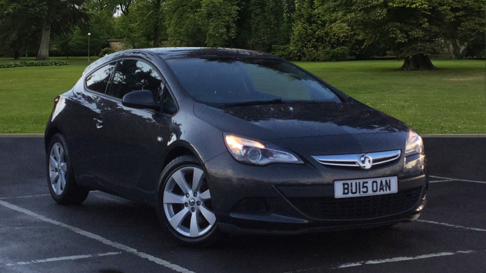 Used Vauxhall Astra GTC Coupe 1.4i Turbo Sport (s/s) 3dr