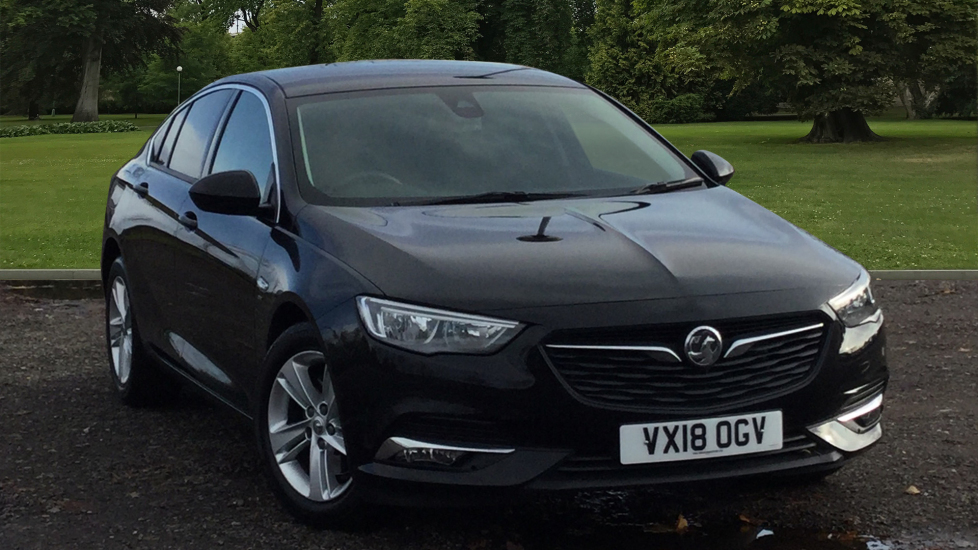 Used Vauxhall Insignia Hatchback 1.6 Turbo D BlueInjection SRi Nav Grand Sport Auto (s/s) 5dr
