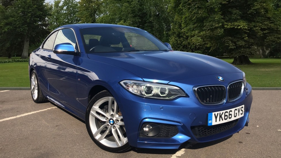 Used BMW 2 Series Coupe 2.0 220d M Sport Auto (s/s) 2dr