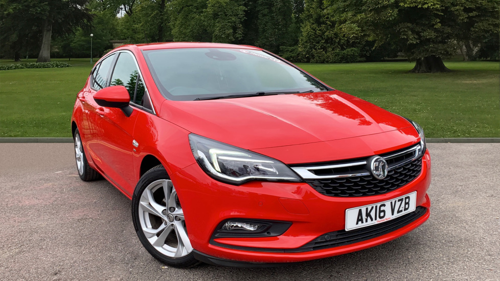 Used Vauxhall ASTRA Hatchback 1.4i Turbo SRi 5dr