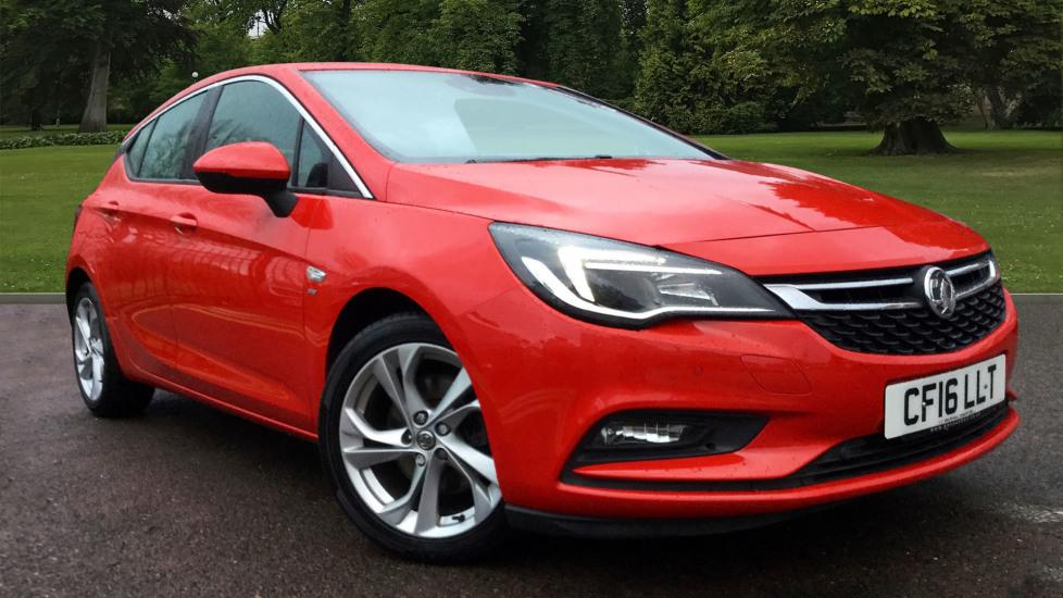 Used Vauxhall ASTRA Hatchback 1.6 CDTi SRi Nav 5dr