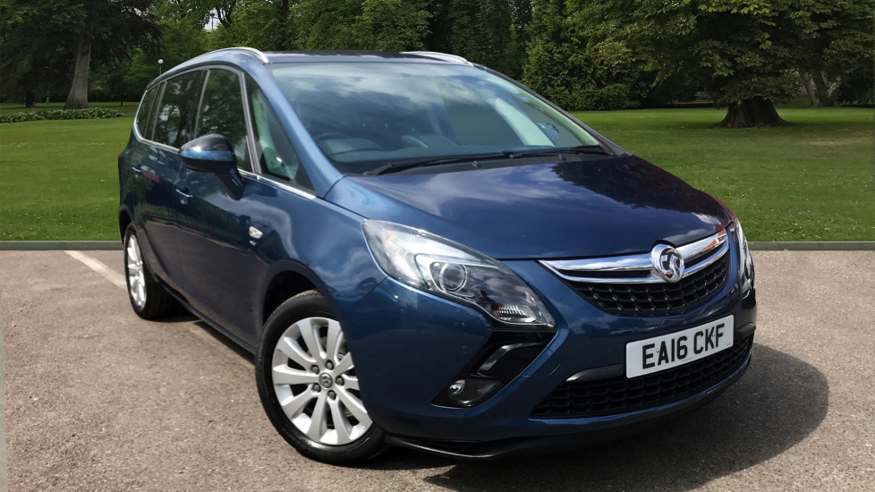 Used Vauxhall ZAFIRA TOURER MPV 1.4 i 16v Turbo Energy 5dr