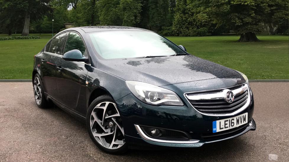 Used Vauxhall INSIGNIA Hatchback 1.6 CDTi SRi VX Line Nav Auto 5dr