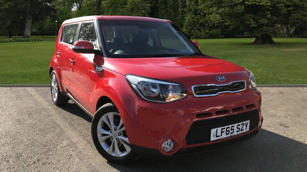 Used Kia Soul Hatchback 1.6 GDi Connect 5dr