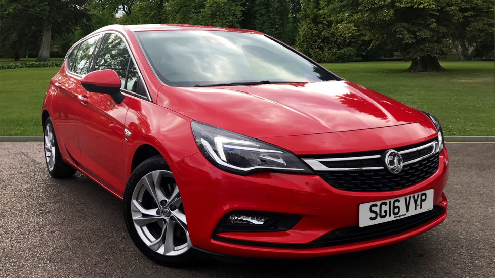 Used Vauxhall ASTRA Hatchback 1.6 i Turbo SRi (s/s) 5dr
