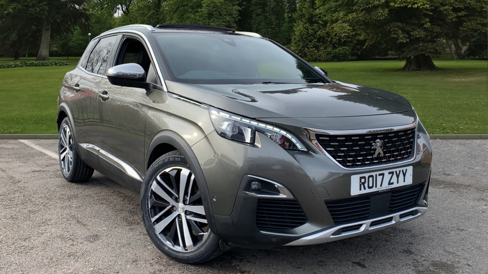 Used Peugeot 3008 SUV SUV 2.0 BlueHDi GT EAT Auto 6Spd (s/s) 5dr