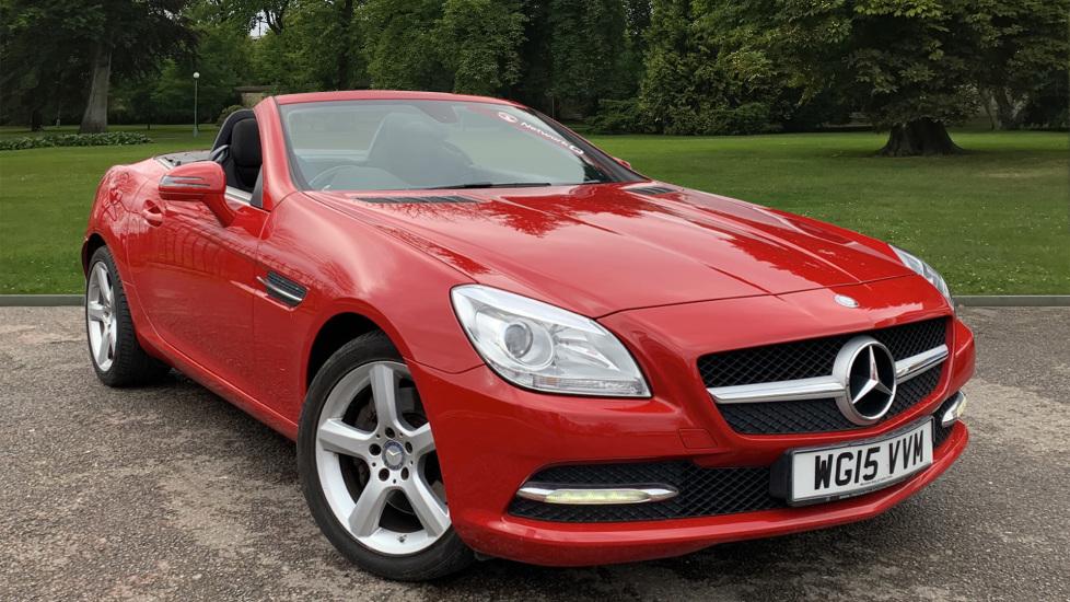 Used Mercedes-benz SLK Convertible 2.1 SLK250 CDI BlueEFFICIENCY 7G-Tronic Plus (s/s) 2dr