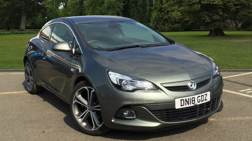 Used Vauxhall ASTRA GTC Coupe 1.4i Turbo Limited Edition (s/s) 3dr