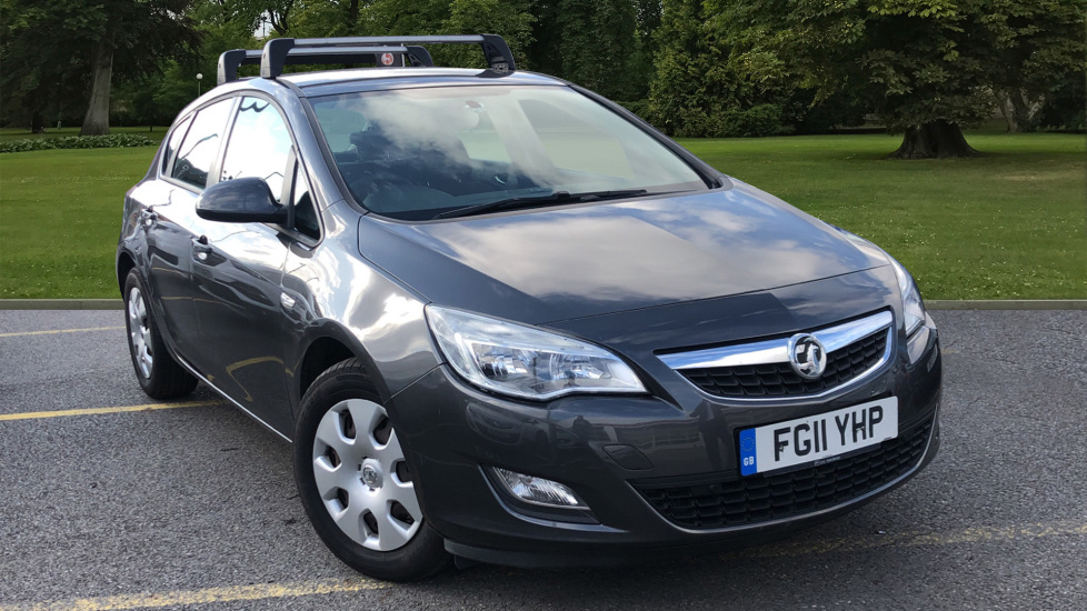 Used Vauxhall ASTRA Hatchback 1.7 CDTi ecoFLEX Exclusiv 5dr