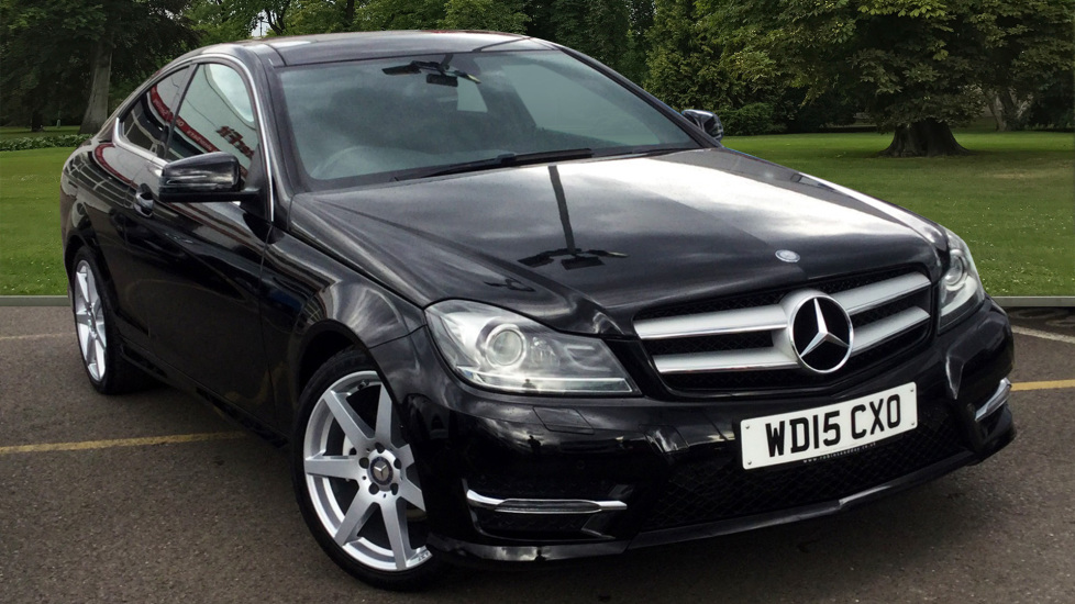 Used Mercedes-benz C CLASS Coupe 2.1 C250 CDI AMG Sport Edition (Premium Plus) 7G-Tronic Plus 2dr