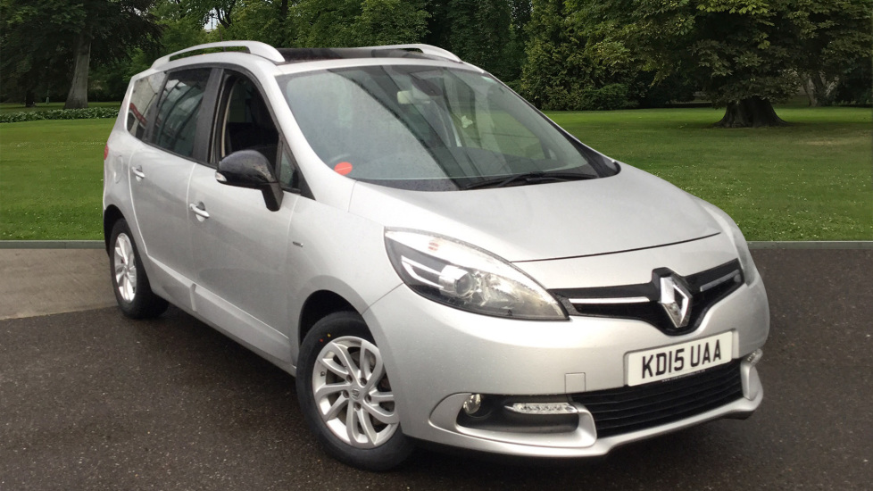 Used Renault Scenic MPV 1.6 dCi ENERGY Limited Nav (s/s) 5dr