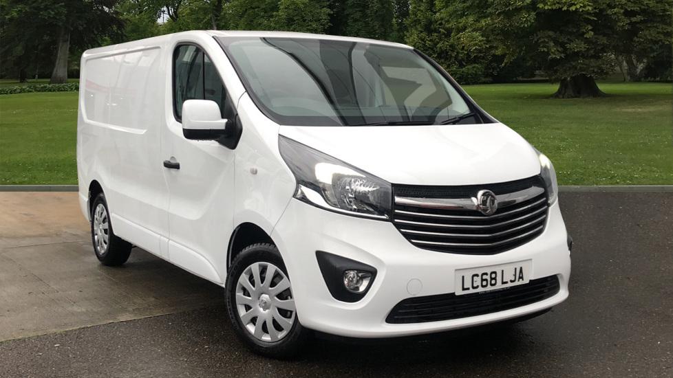 Used Vauxhall Vivaro Panel Van 1.6 CDTi 2700 BiTurbo ecoTEC Sportive L1 H1 EU6 (s/s) 5dr