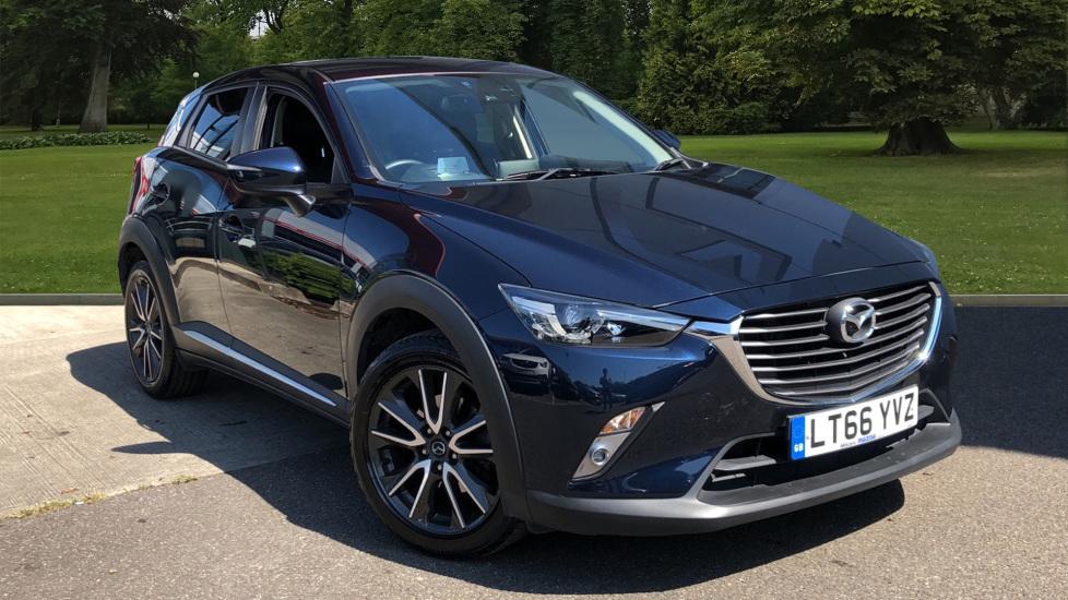 Used Mazda CX-3 SUV 2.0 SKYACTIV-G Sport Nav Auto (s/s) 5dr