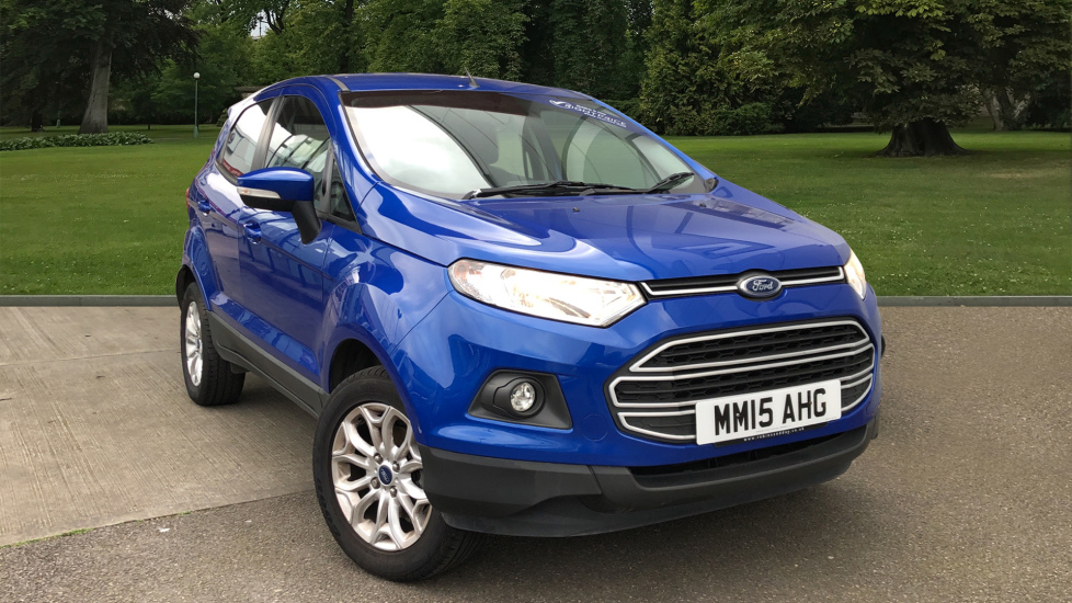 Used Ford EcoSport SUV 1.5 Ti-VCT Zetec 5dr