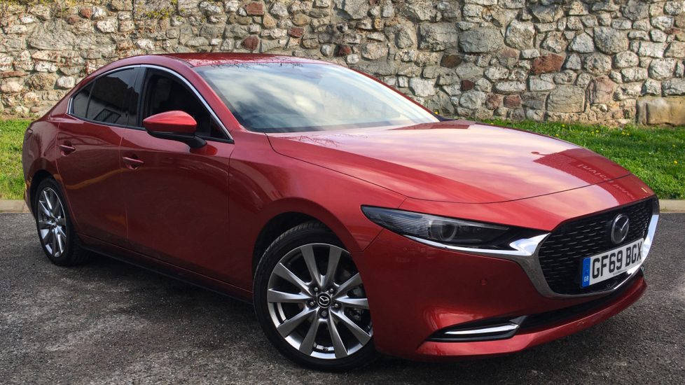 Mazda 3 2.0 Skyactiv-X MHEV GT Sport Tech Automatic 4 door Saloon (2019) image