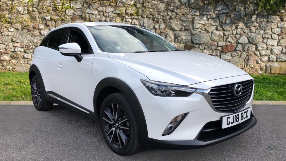 Mazda CX-3 2.0 Sport Nav 5dr - Front/Rear Parking Sensors, Sat Nav, Cruise Control & Heated Seats Hatchback (2018)