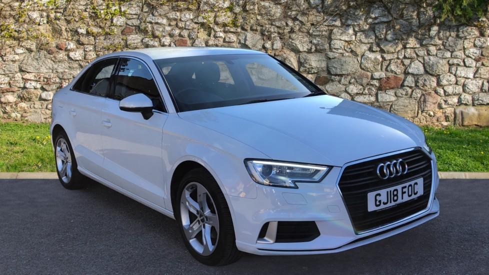 Audi A3 1.6 TDI 116 Sport S Tronic - Technology Pack Advanced, Parking Sensors & Sat Nav Diesel Automatic 4 door Saloon (2018)