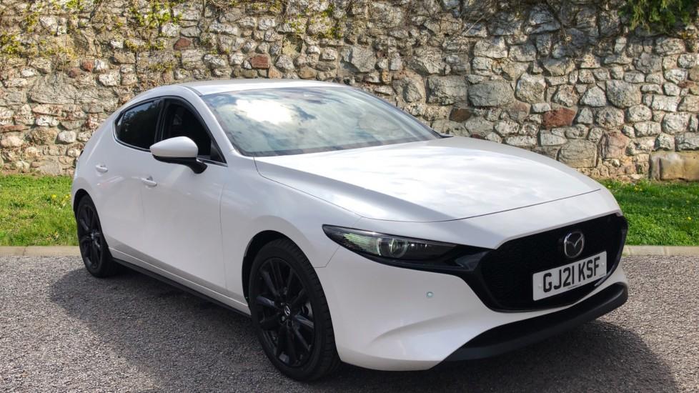 Mazda 3 Hatchback 2.0 Skyactiv X MHEV GT Sport Tech 5dr AWD - Reverse Camera, Heated Seats & Sat Nav Hatchback (2021)