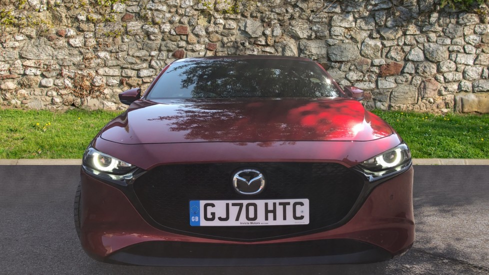Mazda 3 2.0 Skyactiv X MHEV Sport Lux 5dr - Reverse Camera, Sat Nav & Adaptive Cruise Control image 2